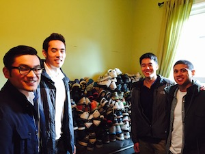 shoes donation